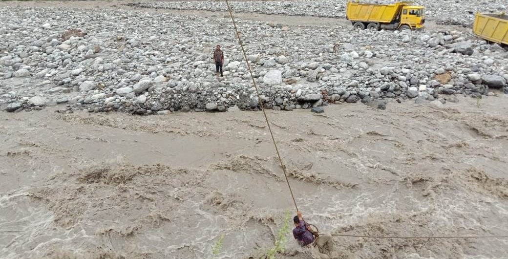 Flood in Beas river