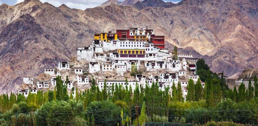 Thiksey Monastery in Leh Ladakh