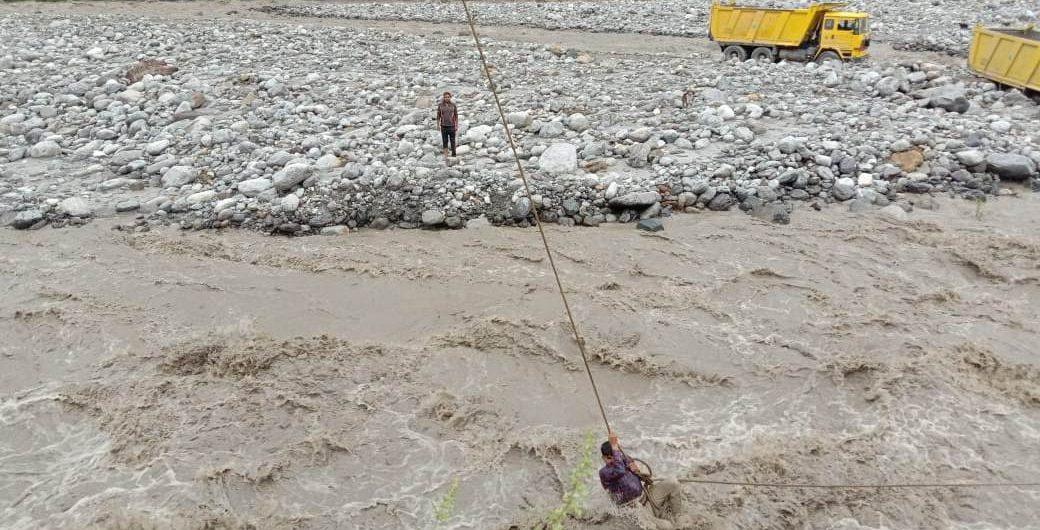 Flood in Beas river