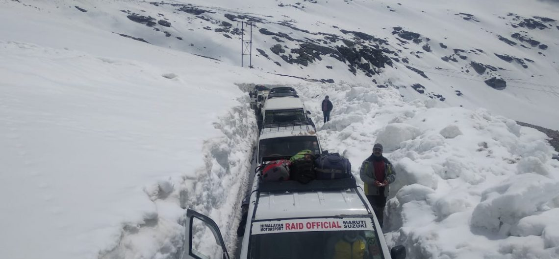 Rohtang pass opens for vehicles on 28 April 2020