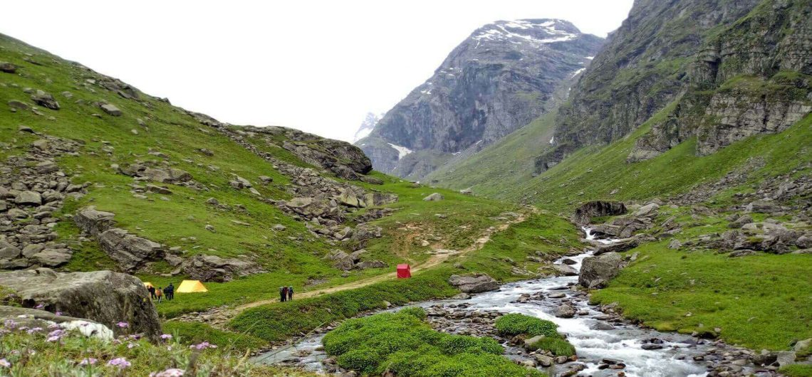 Hampta Pass Trek in Himachal Pradesh