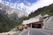 South Portal of Atal Tunnel, Rohtang