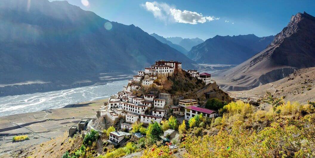 Kee Monastery, Spiti, Himachal Pradesh