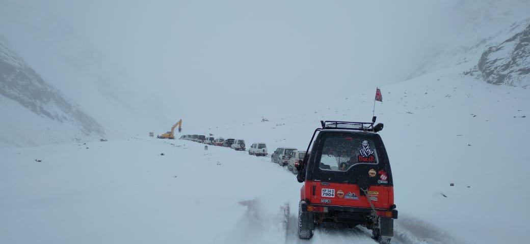 4X4 snow rally